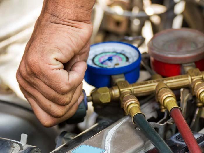 Заправка и обслуживание авто-кондиционеров